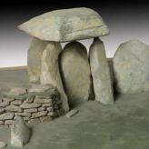 Model of Pentre Ifan Cromlech, Pembrokeshire