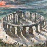 Stonehenge Watercolour