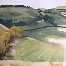 Landscape Watercolour Techniques: Two day artist workshop with Claire Thomas